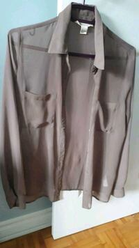 Sheer taupe color blouse  Pointe-Claire, H9R 1N8