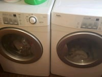 white front-load washer and dryer set Laval, H7A 3E4