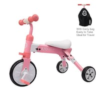 toddler's pink and white trike Columbus