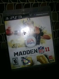 Madden NFL 12 PS3 game case Dickinson, 77539