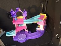 teal pink and purple slide toy set Portsmouth, 23703