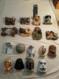 Lot of 17 micro machine playsets 90's