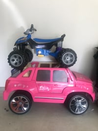 Barbie Car Batman 4-wheeler null