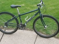 black and green hard tail mountain bike North Olmsted, 44070