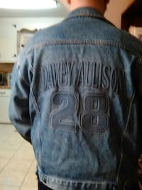 Davey Allison denim jacket Athens, 35611