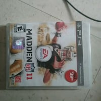 PS3 game Madden Football  Winnipeg, R3B 2S6