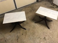 Shabby chic Brandt end tables