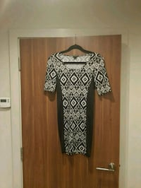 black and white long sleeve dress Streatham, SW16