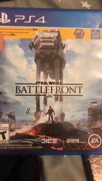 Sony PS4 Star Wars Battlefront game case Ajax, L1Z 0M5