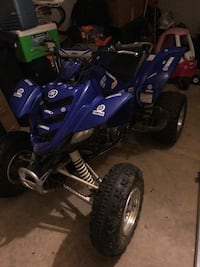 blue and black Yamaha ATV Edgewood, 21040