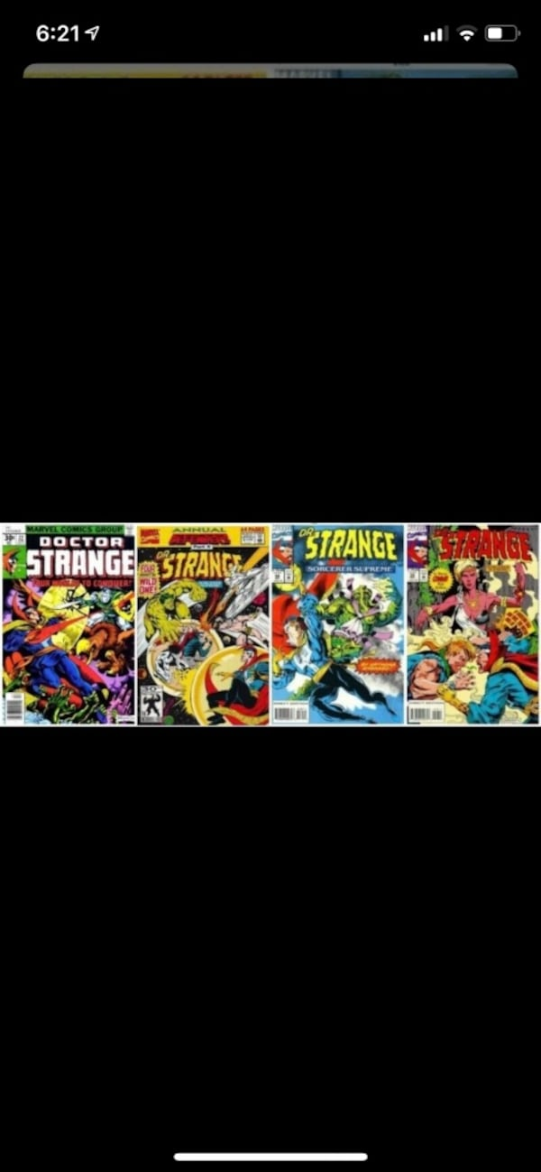 Comic books. 4 dr strange in mint condition.  Free delivery 5556eb41-b049-4405-b86a-fe29053d31ae