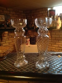 Extra Large 18 Inch Glass Vase Set Antioch, 60002