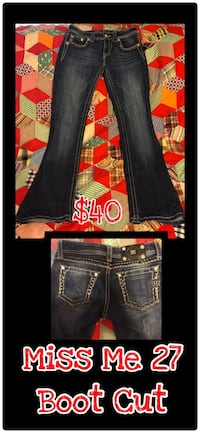Miss Me 27 boot cut jeans  Bowling Green, 42104