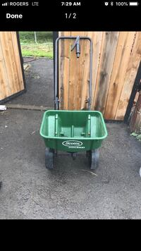 green and black Coleman portable gas grill Hull, J8X