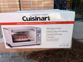 Cuisinart Toaster Oven never used