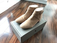 H&M Beige Suede Ankle Boots size 8/8.5 Toronto, M5V 3S8