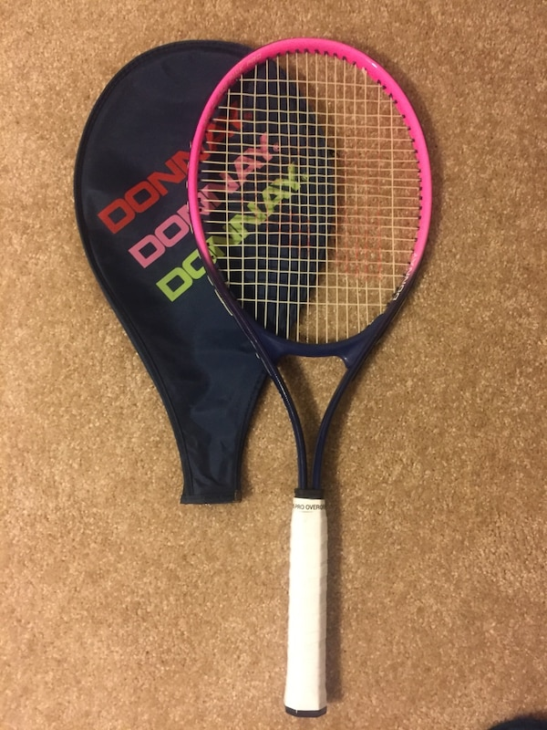 57223af902e Used Donnay APR Class Pink Pro women s tennis racquet for sale in Merritt  Island - letgo