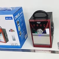 Portable Bluetooth Speaker with disco lights