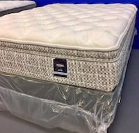white and gray bed mattress Lorton, 22079