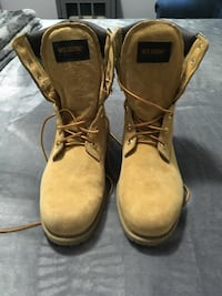 "8"" Tall Wolverine Work Boots"