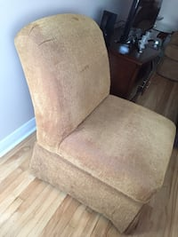 One Brown fabric padded  chair Montréal, H8P 1E3