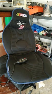 black Nascar massage cushion Oakville, L6H 7N4