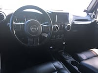 2012 BLACK JEEP WRANGLER Houston