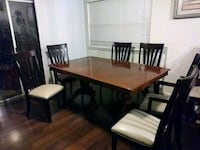 Dining table w/6 chairs and extension Moreno Valley, 92553