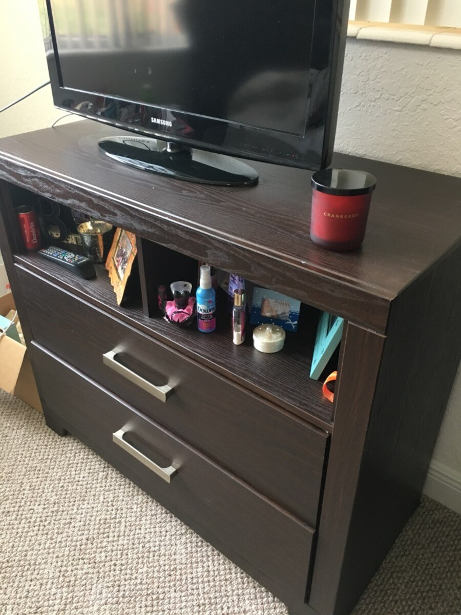 Used Dresser And Night Stand In Naples