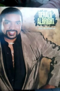 "Gerald Albright ""Just Between Us"" vinyl album La Plata, 20646"