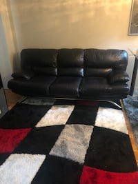 Italian leather sofa (Shipped From Italy) BOTH COUCHES FOR $400 like New! Mississauga, L5L 3A2