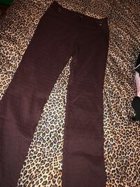 Maroon and black pants SIZE SMALL Edcouch, 78538