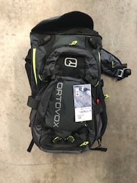Avalanche bag avy bag never used, comes with canister and float  Lakewood, 80214