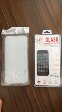 Cell phone case and tampered glass Vancouver, V6B 6L4