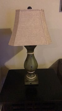Black and white table lamp 1023 mi