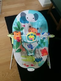 baby's white and blue Fisher-Price bouncer Stephens City, 22655