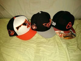 Orioles fitted 7 1/4