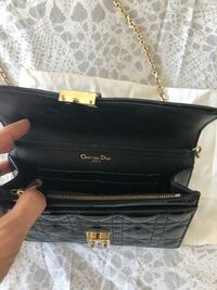 Brand new black authentic Christian Dior bag Mount Royal, H3R
