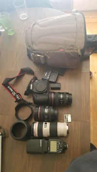 Canon Eos 5d Mk 3 with lenses  Burnaby, V5E 3J2
