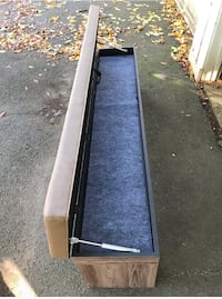 Faux leather bench with storage New Haven, 06515