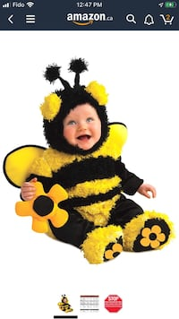 Bumblebee costume baby Montreal, H3G 1T4