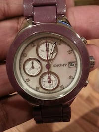 DKNY mother of pearl face watch Sparta Township, 07871