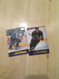 two football player trading cards St Albert, T8N 2J3