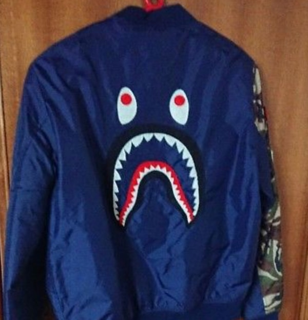Bape bomber authentic must go