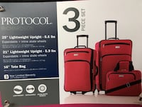 Brand New!!! 3-piece luggage set in pink  Londonderry, 03053