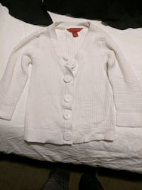 White cardigan sweater size small Calgary, T2E 0B4