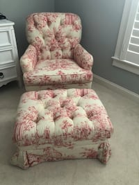 Charles Stewart chair and ottoman Charleston, 29492