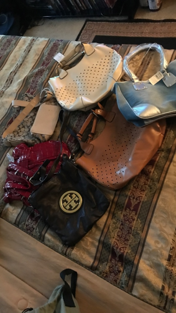 Brand new handbags all for one price