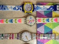 Assorted Swatch watches