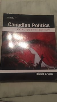 Canadian politics 5 edition  Welland, L3C 6S2
